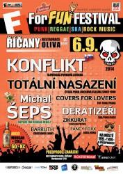 ForFUN Festival Konflikt/SK Michal ŠEPS Totální nasazení Covers for Lovers Zikkurat a další
